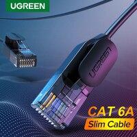 Ugreen-Cable de red RJ45, cable de conexión UTP de 4 pares trenzados de Cat. 6 A de 10Gbps