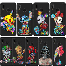 DIY Custom Phone Case Stitch Joker Mickey Deadpool Marvel For Huawei Mate 30 Pro 10 20 P Smart Cover Soft Silicone Etui Coque(China)