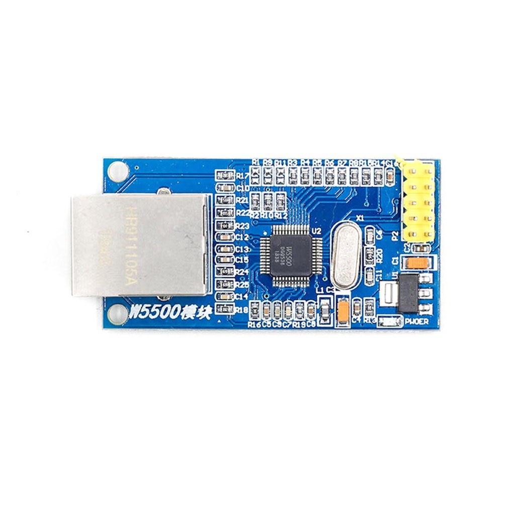 W5500 Ethernet Network Module Hardware TCP/IP 51/STM32 Microcontroller Program Ethernet Modules