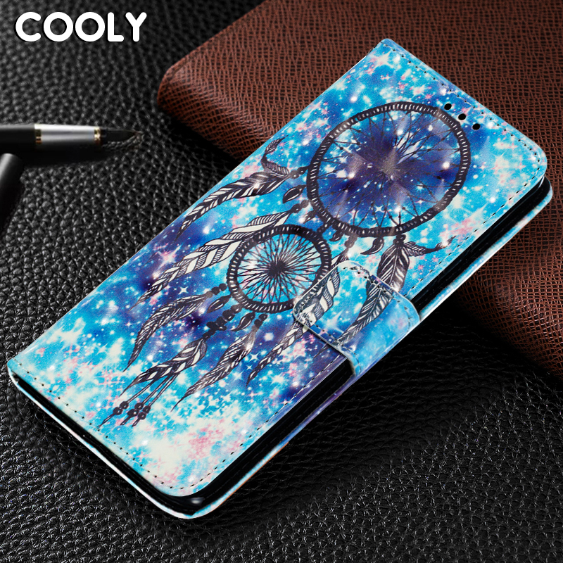 COOLY 3D Cartoon <font><b>Case</b></font> For <font><b>Samsung</b></font> Galaxy A7 2018 A9 Star A8 A6 + Back Cover on <font><b>A5</b></font> 2017 <font><b>Magnetic</b></font> Leather Wallet Flip Phone Coque image