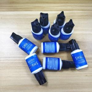 Image 4 - Free Shipping Original Korea Sky Adhesive Glue S Type for Eyelash Extensions MSDS 5ml Black Cap False eyelash lashes glue tools