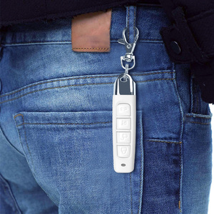 Image 5 - KEBIDU 433MHZ Remote Control Garage Gate Door Opener Remote Control Cloning Code Car Key Duplicator Clone 12V Transmitter Newest
