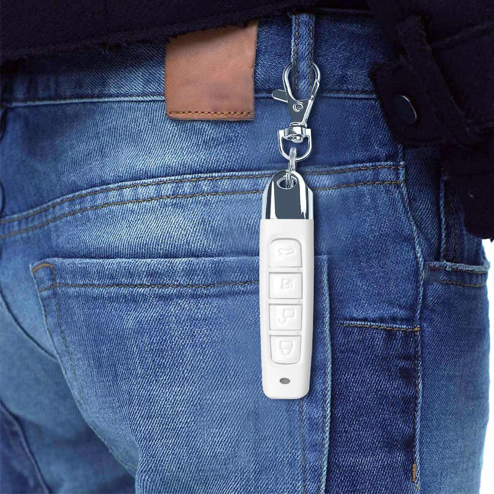 KEBIDU 433MHZ télécommande porte de Garage ouvre-porte télécommande clonage Code voiture clé duplicateur Clone 12V émetteur plus récent