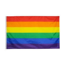 90*150cm lgbt lésbica orgulho gay arco-íris bandeira