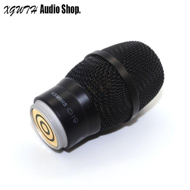 Microfone sem fio mic núcleo para shure pgx58 pgx24 slx24 sm58 87a 288 ksm9 handheld condensador microfone hipercardióide mic cabeça