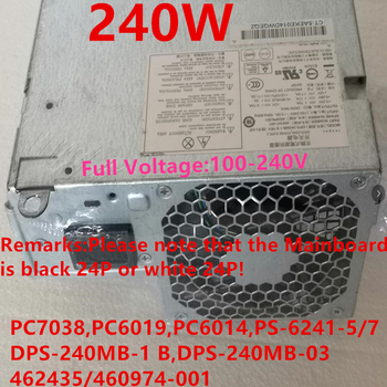 New PSU For HP DC5800 5850 7900 240W Power Supply PC7038 PC6019 PC6014 PS-6241-5/7 DPS-240MB-1 B DPS-240MB-3 A DPS-240FB-1 A