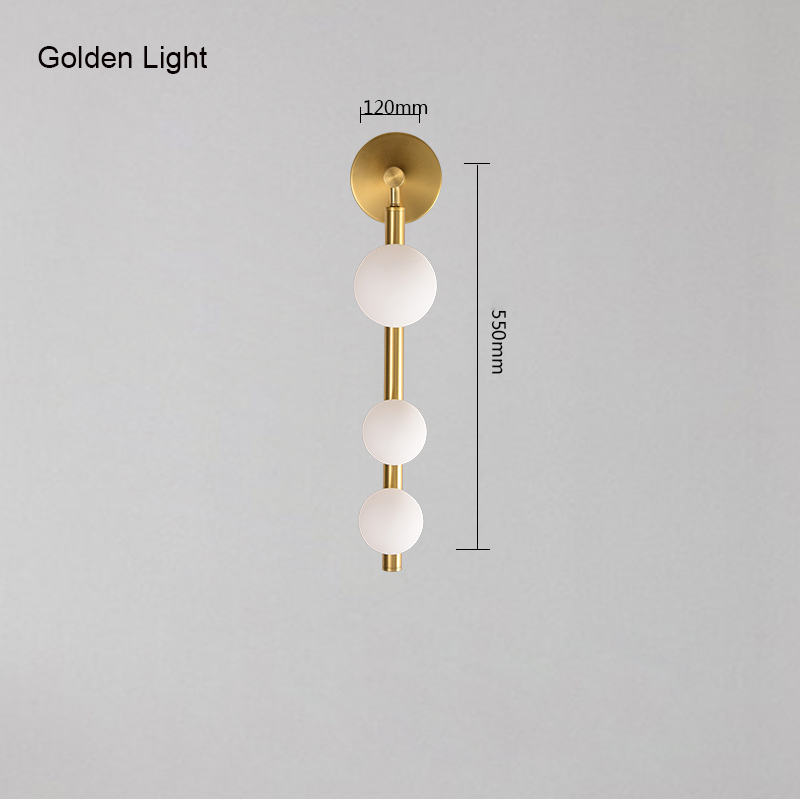 gold color lamp