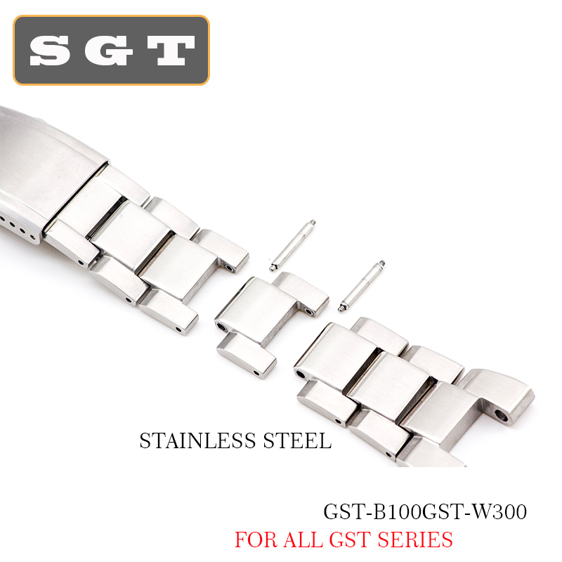 watch band GST-B100GST-W300 stainless steel  high quality 316L metal strap steel belt tools