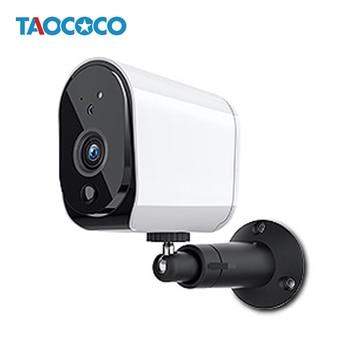 Taococo 저전력 ip 카메라 야외 와이파이 카메라 감시 홈 보안 카메라 방수 배터리 무선 카메라 1080 p