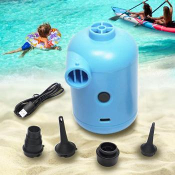 Mini Electric Air Pump Portable Inflator Deflator for Inflatable Sofa Couch Pool Float Garden Swimming Pool Paddling Pool inflator pump pool for inflatable air hand pump swimming portable pool air
