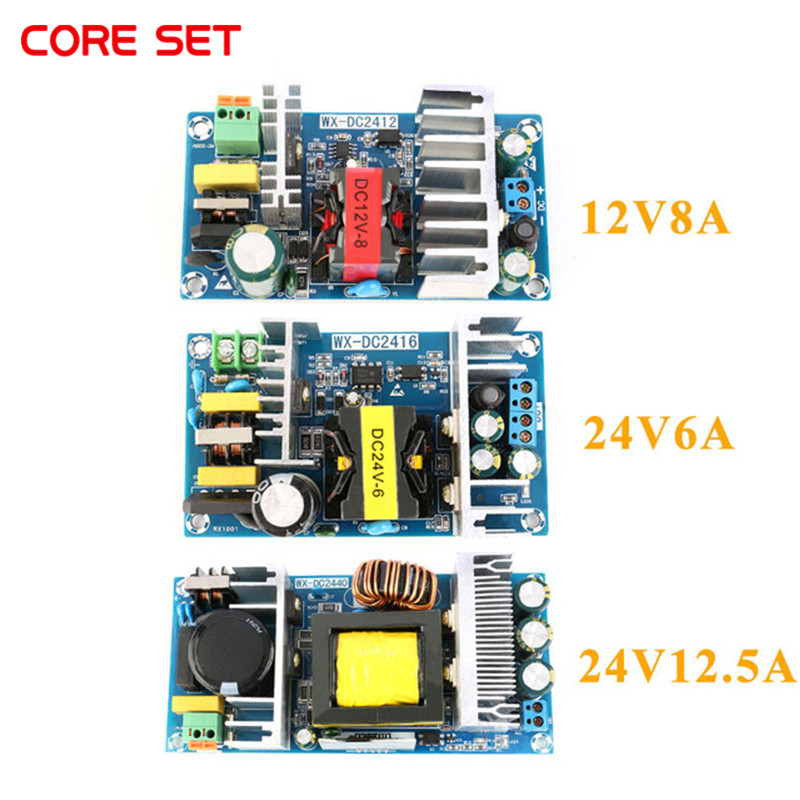 AC-DC 12V 8A <font><b>24V</b></font> 6A <font><b>24V</b></font> 12.5A AC-DC Isolated Switch <font><b>Power</b></font> <font><b>Supply</b></font> Module Buck Converter Step Down Module 100W 150W 300W image