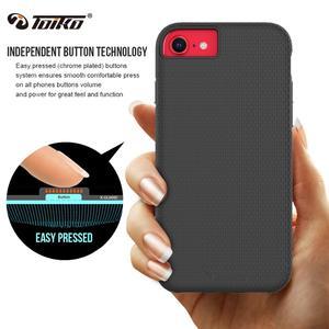 Image 4 - TOIKO X Guard 2 w 1 odporny na wstrząsy futerał na telefon iPhone 7 8 Plus SE tylne okładki zderzak wytrzymały pancerz hybrydowy TPU PC powłoka ochronna