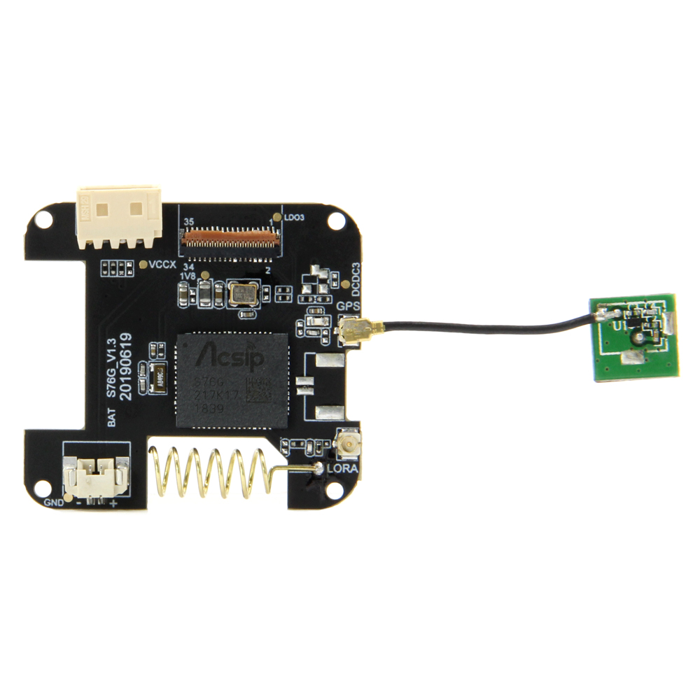 TTGO T-Watch LORA GPS-M8N SIM800L Bottom PCB Board For Environmental Interaction WiFi Bluetooth ESP32 Lora Development ES