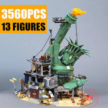 цены New 3560pcs Movie Welcome To APOCALYPSEBURG Fit 70840 City Technic Building Block Bricks Kid Toys Christmas Gift SY1276