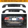 Задний бампер из углеродного волокна диффузор спойлер для BMW E92 E93 M Sport Coupe Convertible Only 2007-2013