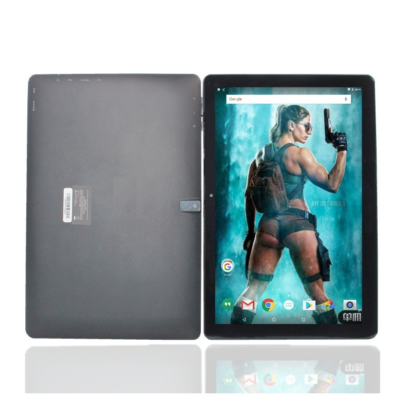 10.1 Inch Tablet PC 1GB ROM 16GB  1280 X 800 IPS Y1010  HDMI Android 7.0 Wifi  Black Tablet RAM Quad-Core MTK8163
