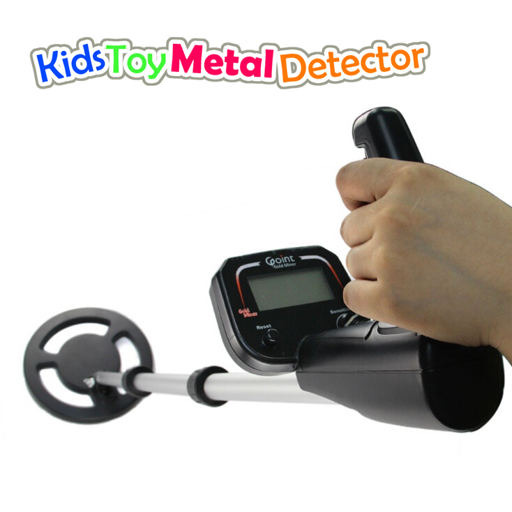 2018 nouveau détecteur de métaux de recherche de sol d'or de passe-temps d'enfant, chasse compacte de détecteur de métaux de chercheur de trésor