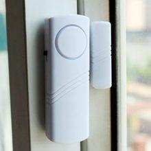 Janela da porta de segurança em casa alarme sem fio do assaltante com sensor magnético sem fio mais dispositivo segurança do sistema branco por atacado