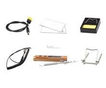 TS100 elektrische lötkolben mini intelligente löten eisen tragbare thermostat intelligente löten eisen