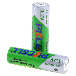 Image 4 - 4Pcs/card PKCELL AA Rechargeable Battery Ni MH 1.2V 2200mAh Low Self discharge Durable NIMH 2A AA Batteries for flashlight toys