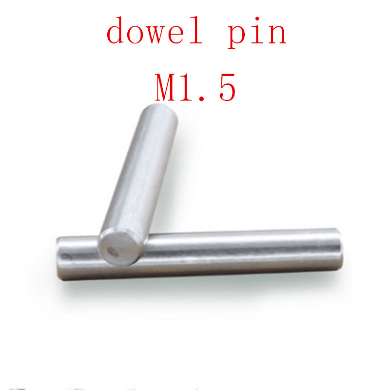 50pcs M1.5*4/5/6/8/10/12/14/16/20 Parallel Pins Dowel Pins GB119 304 Stainless Steel Cylindrical Pin Tension Roll Pins