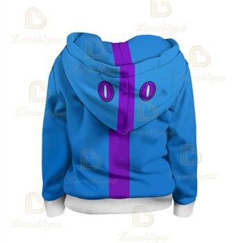 3T To 16T Children's Sweatshirt 3D Game Stars Shark Leon Boys Hoodie Anime Hoodie Sweatshirts 4t to 16t kids