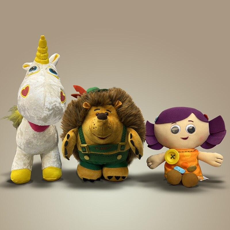 Brinquedo-história 3 colecionador mr hedgehog buttercup fora de impressão boneca dolly pelúcia