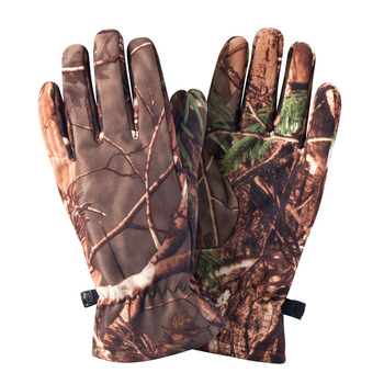 Quality Hunting Gloves Full Finger Plus Velvet Gloves Outdoor Tactical Camouflage Special Forces Cs Ski Riding Wild Hunting 4
