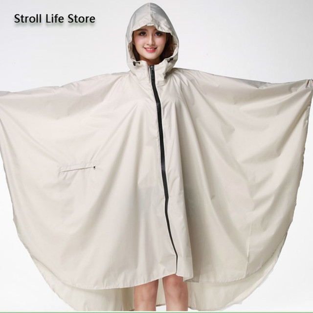 Adult Raincoat Women Long Rain Poncho Lightweight Plus Size Rain Coat Waterproof Windbreaker Jacket Gabardina Mujer Gift Ideas 2