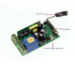Image 4 - Interruptor de mando inalámbrico de radiofrecuencia para escaleras, 85 265V, 1Ch, luz LED de techo