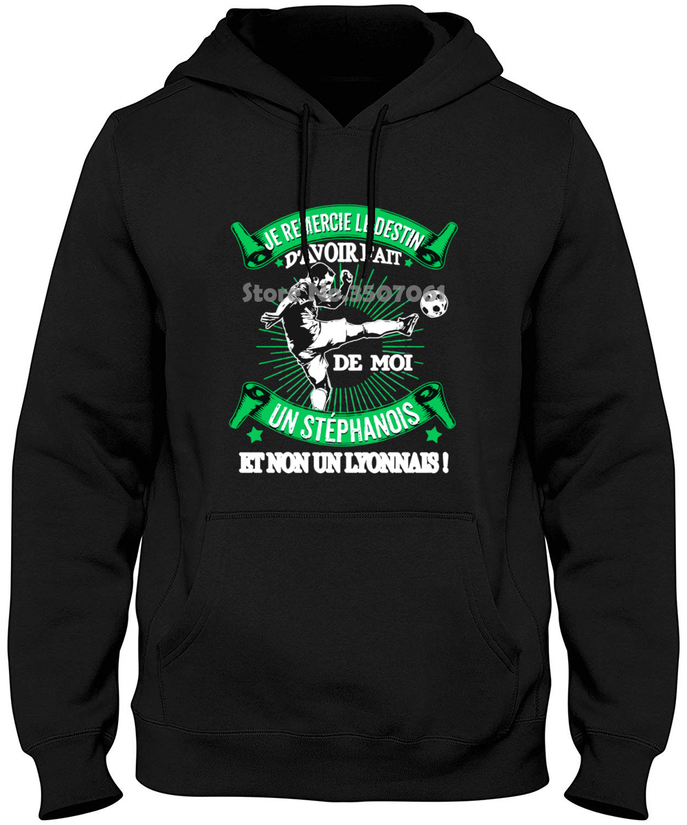 Men Je Remercie Le Destin Saint Etienne Hommezily Kiic Funny Novelty Women 2019 New Hoodies & Sweatshirts
