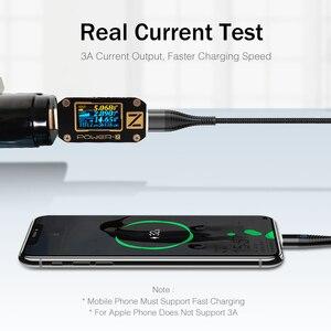Image 3 - Kabel Usb typu C 1m 2m kabel magnetyczny Led szybkie ładowanie do Samsung Galaxy S9 S8 Plus uwaga 9 8 OnePlus 7 Pro kabel ładowarki