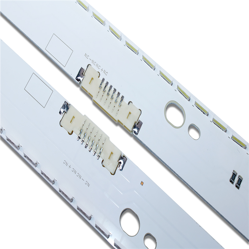 100%New 2 Pieces/set 58LED 530mm LED Backlight Strip For Samsung 49