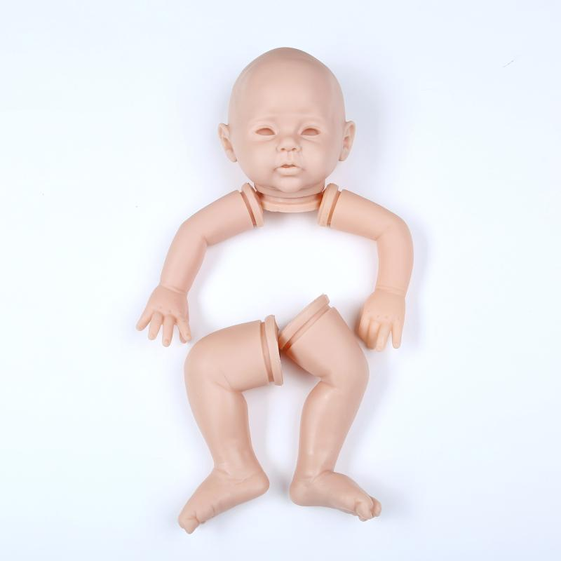 Reborn Doll Kit Unpainted Doll Parts Raven Rebirth Infant Doll Mould