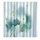 Прозрачный и простой китайский стиль листьев лотоса занавес для гостиной спальни на заказ любого размера - 1