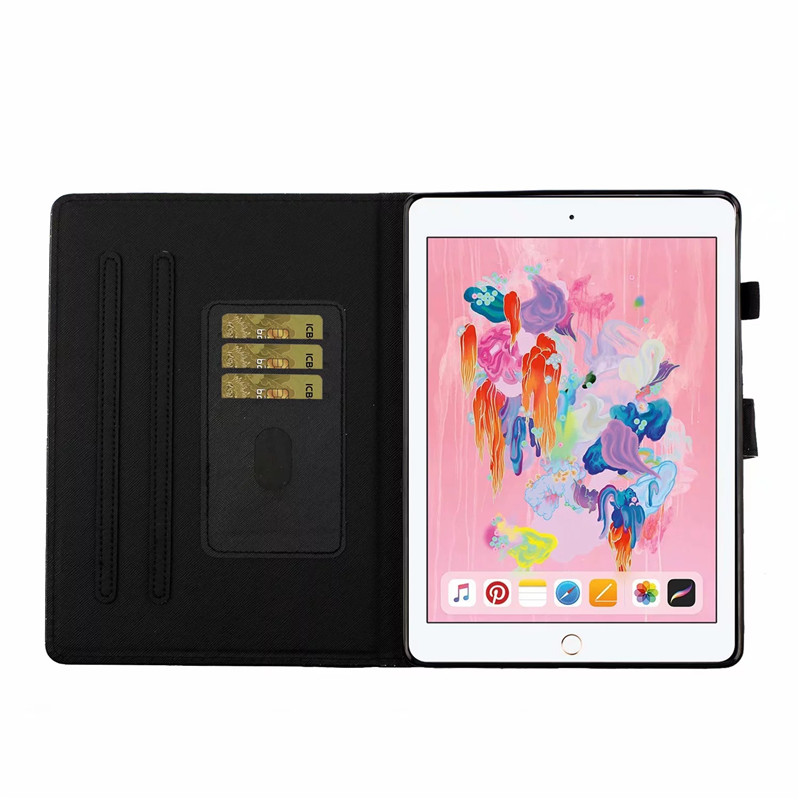 generation Glitter Stand For Tablet iPad Flip Wallet iPad case 7th For Apple Bling Cover