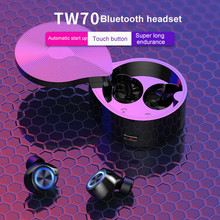 TW70 TWS wireless earphone Bluetooth Headphones Su