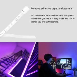 Image 3 - Yeelight Smart Licht Streifen Plus 1M Erweiterbar LED RGB Farbe Streifen Lichter Arbeit Alexa Google Assistent Smart Home Automation