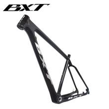 2020 BXT new T800 carbon frame 29er mtb mountain bike frame BSA Disc Brake tapered bicycle frame factory outlet 142*12mm148*12mm