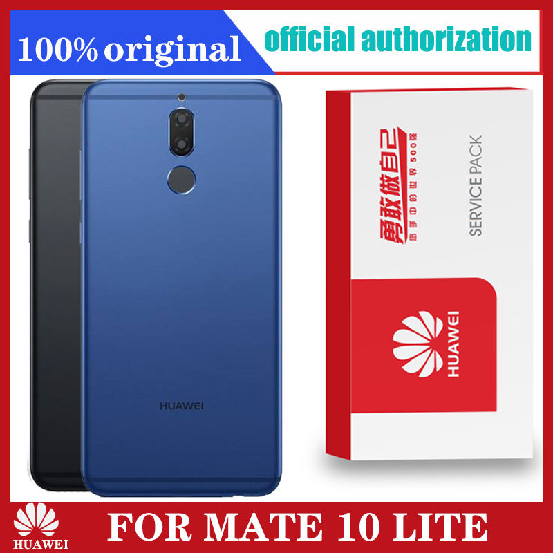 Original Back Housing Replacement for HUAWEI MATE 10 LITE Back Cover Battery with Camera Lens adhesive Sticker