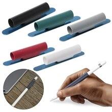 Мягкий силиконовый Магнитный чехол-держатель для Apple Pencil Apple IPad Pro