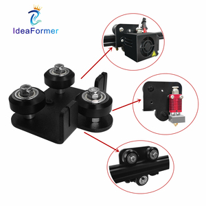 Ender-3 CR10 Extruder Back Support Plate With Pulley Kit for Ender 3 Ender 3 Pro Creality Cr-10 Cr-10S S4 S5 Series 3D Printer.(China)