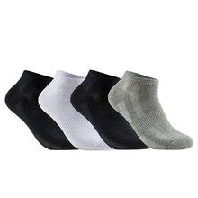 10 Pairs yüksek kaliteli pamuklu erkek çorabı örgü nefes kısa erkek hediyeler iş eğlence spor erkek ayak bileği çorap artı boyutu 43 46