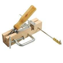 Пчеловодная рама, гребни, оборудование для пчеловодства, перфоратор, машина для пчеловодства, деревянный Борер, практичные оцинкованные отверстия