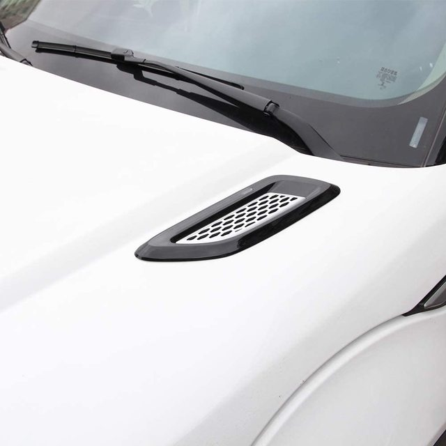 for Discovery Sport,Discovery 4/5,Freelander 2,Range Rover evoque Car Exterior Engine Hood Air Outlet Vent Cover Trim 3