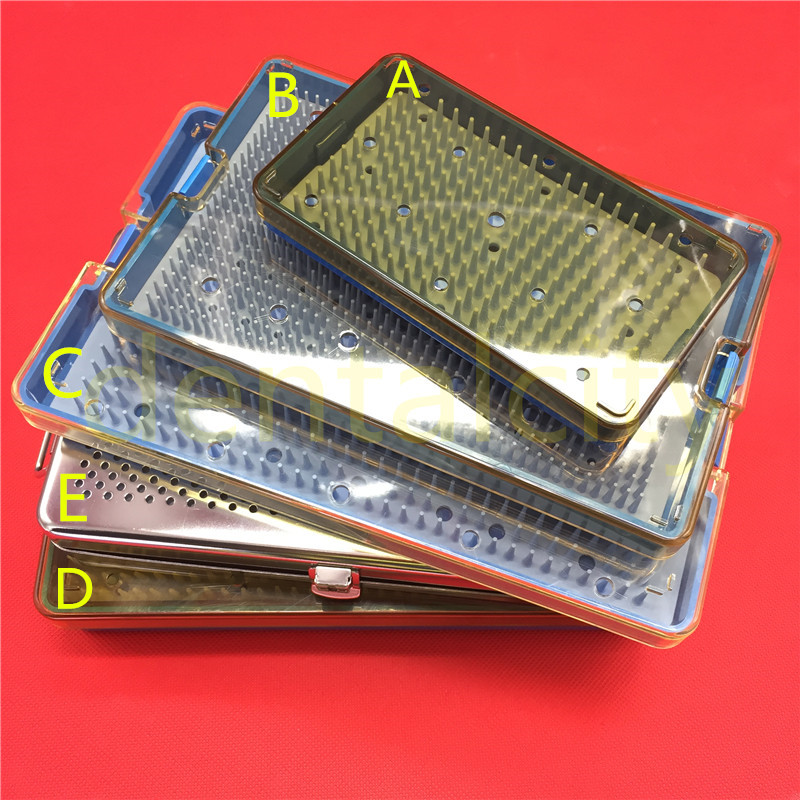 5 Types Sterilization Tray Case Box Opthalmic Surgical Instrument