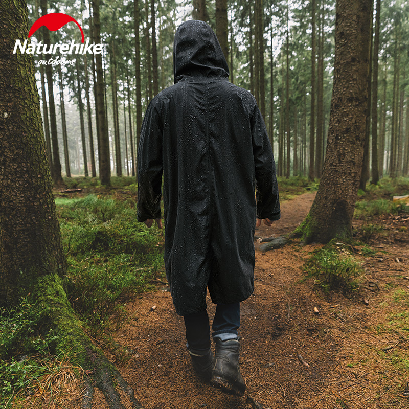 Naturehike 2020 New Outdoor Raincoat Waterproof Breathable On Foot Camping Mountain Climbing Hiking Fashion Poncho NH20FS006