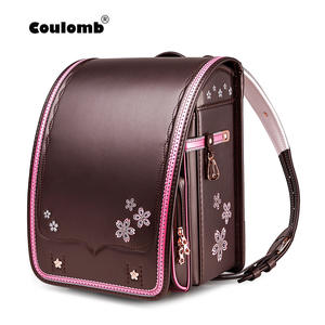 Coulomb School-Bag Backpack Randoseru-Bags Girls Children Bookbags PU for Kid Japan New