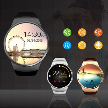 smart watch Fashion round screen Bluetooth smart card call watch sports men women positioning heart rate monitoring reloj D5