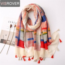 Visrover 2020 New Hijab Scarves Summer Spring Scarf For Wome